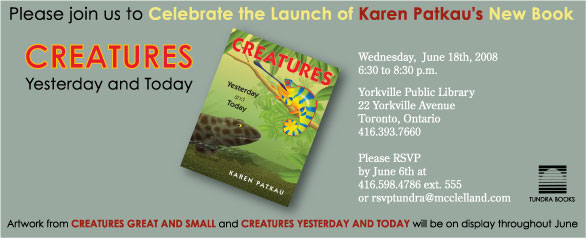 Creatures Invitation
